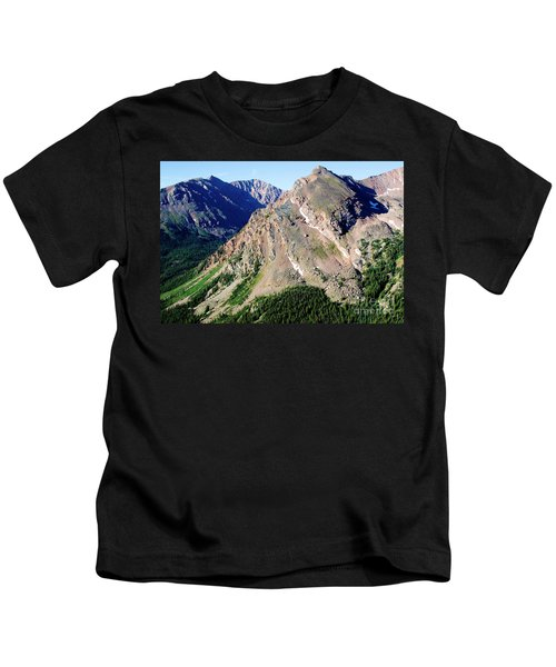 Hiking The Mount Massive Summit Kids T-Shirt