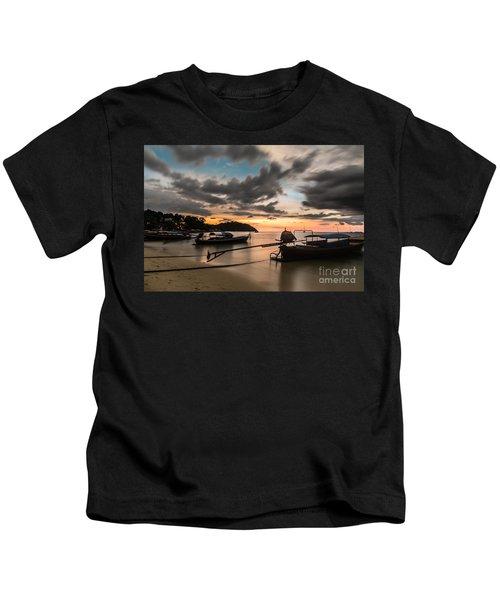 Sunset Over Koh Lipe Kids T-Shirt