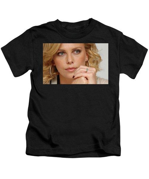 Charlize Theron Kids T-Shirt