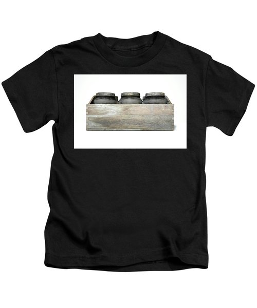 Whiskey Jars In A Crate Kids T-Shirt