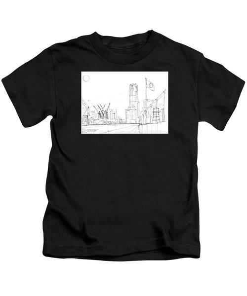 5.2.japan-1-tokyo-skyline Kids T-Shirt