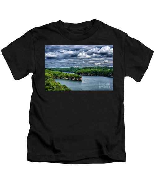 Long Point Summersville Lake Kids T-Shirt