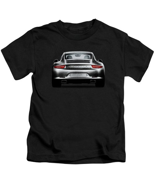 911 Carrera Kids T-Shirt by Mark Rogan