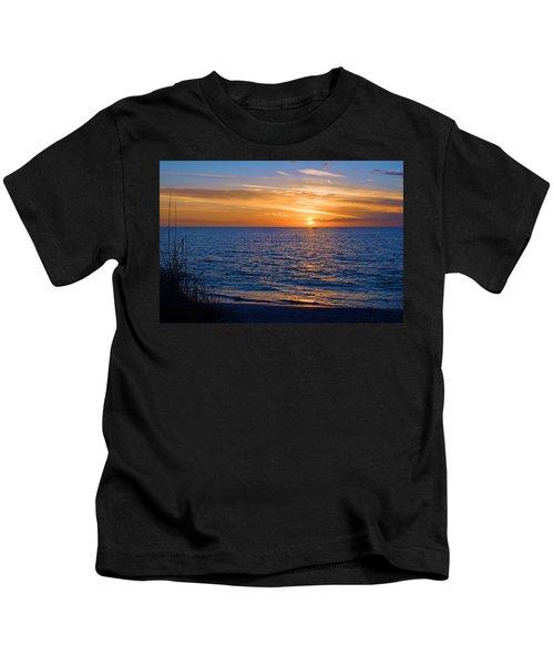 A Beautiful Sunset In Naples, Fl Kids T-Shirt