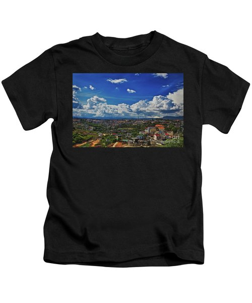 Kids T-Shirt featuring the photograph A Bit Of Disneyland In Dalat, Vietnam, Southeast Asia by Sam Antonio Photography