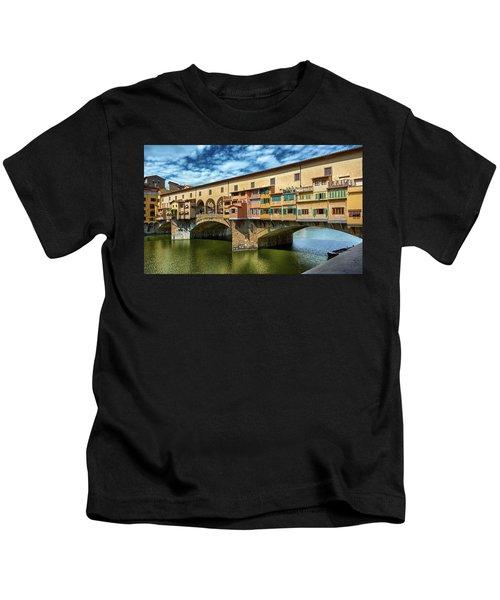 A Closer Look To Ponte Vecchio Kids T-Shirt