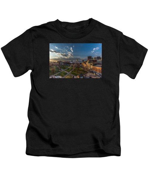 A Common Sunset Kids T-Shirt
