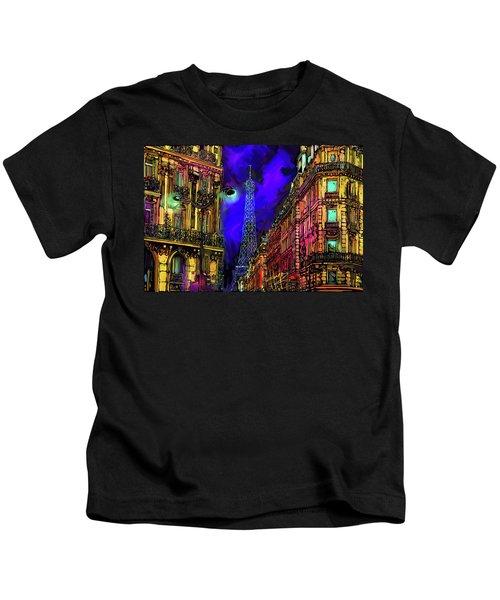 A Corner In Paris Kids T-Shirt