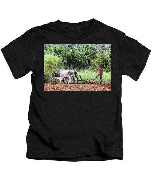 A Cuban Tractor Kids T-Shirt