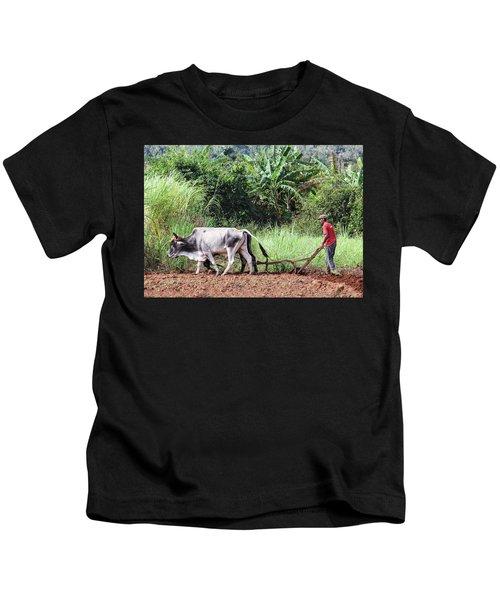 A Cuban Tractor Kids T-Shirt