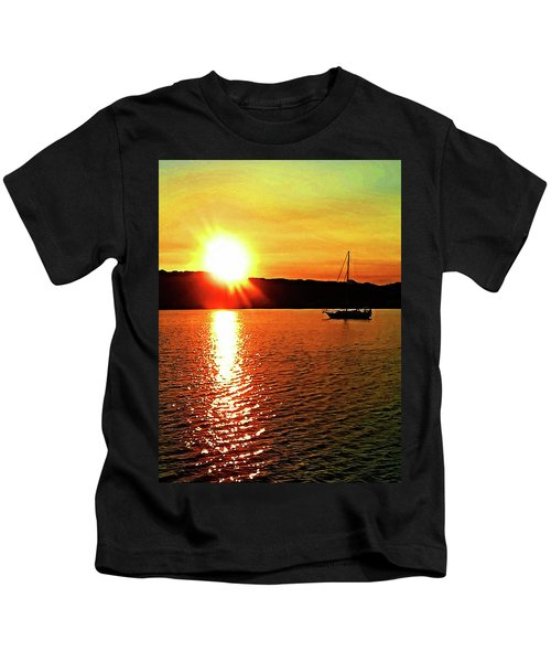 A Early Springtime Visit To Mystic Village In M Kids T-Shirt