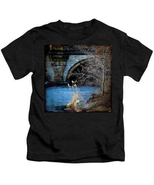 A Frozen Corner In Central Park Kids T-Shirt