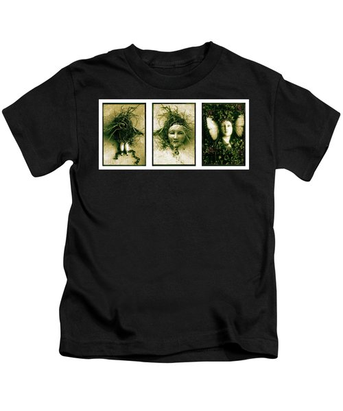 A Graft In Winter Triptych Kids T-Shirt