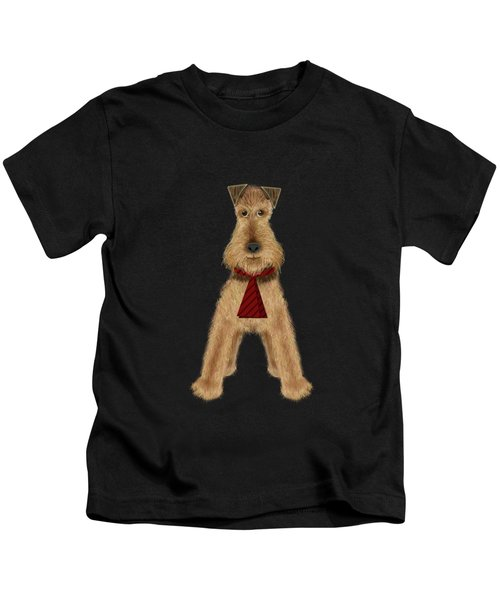 A Is  For Airedale Kids T-Shirt