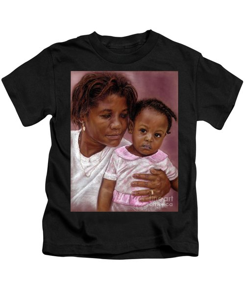 A Mother's Love Kids T-Shirt