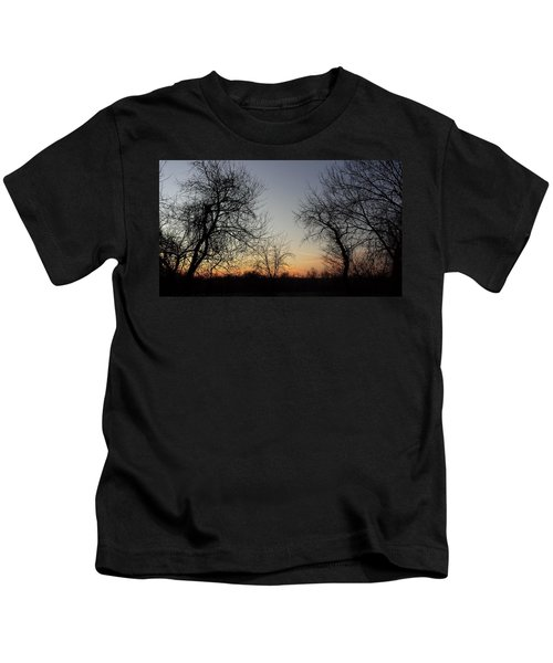 A New Day Dawning Kids T-Shirt