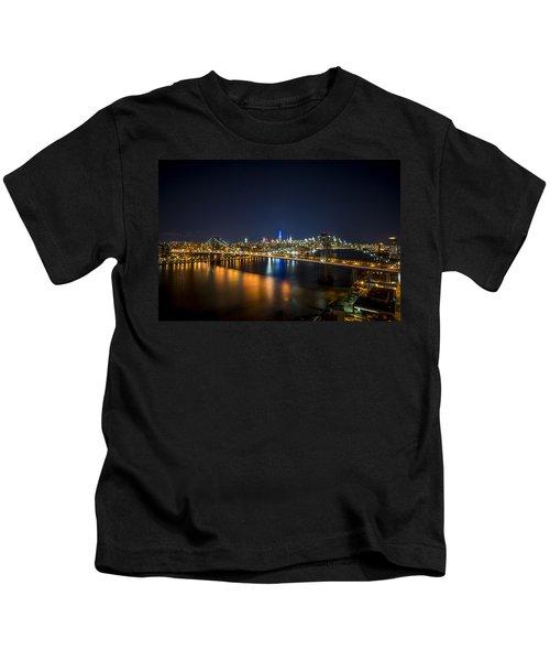 A New York City Night Kids T-Shirt