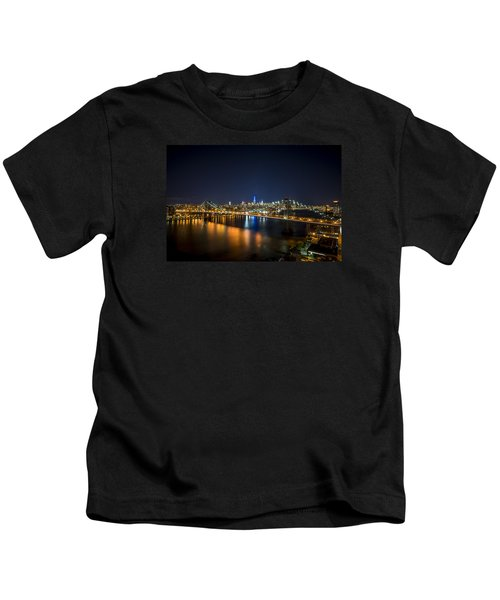 A New York City Night Kids T-Shirt