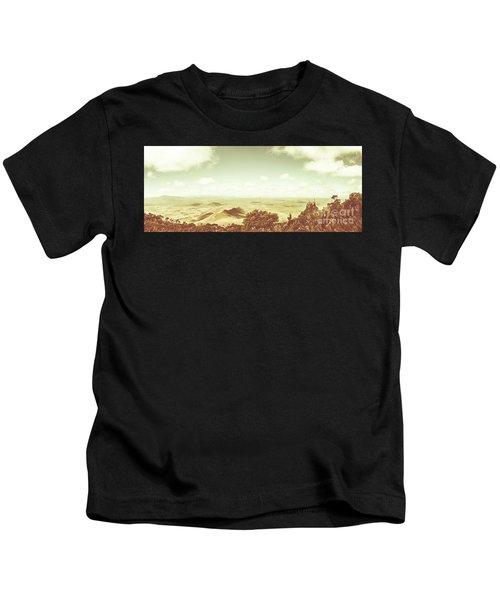 A Piece Of Tasmania Kids T-Shirt