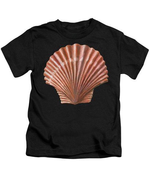A Quincunx Of Scallop Shells Kids T-Shirt