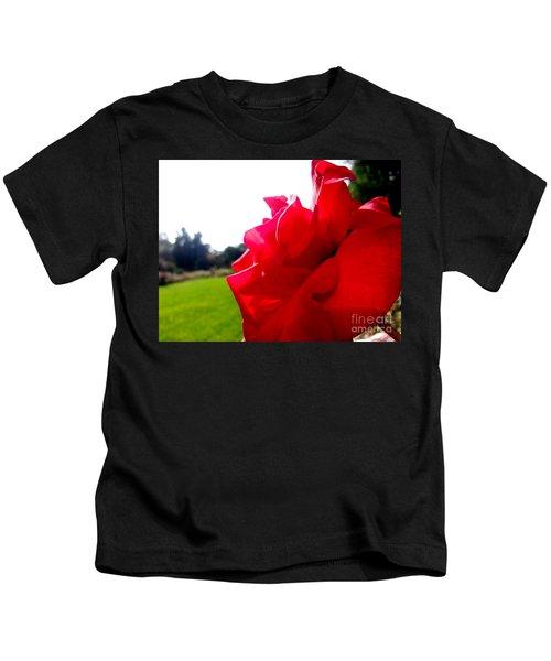 A Rose In The Sun Kids T-Shirt