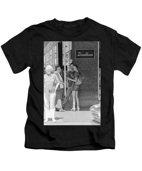 A Sidewalk Conference Kids T-Shirt
