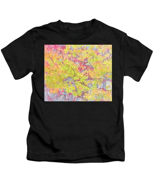 A Splash Of Color Kids T-Shirt