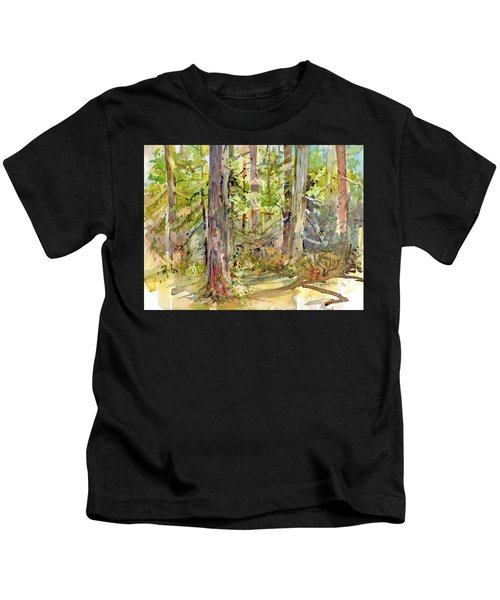 A Stand Of Trees Kids T-Shirt