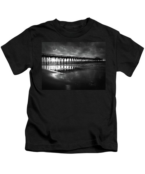 A Storm At Sunrise Kids T-Shirt