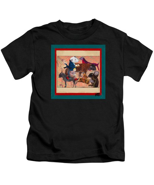 A Strange And Wonderful People Kids T-Shirt