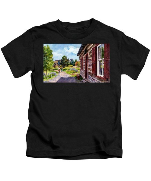 A Stroll Through Time Kids T-Shirt