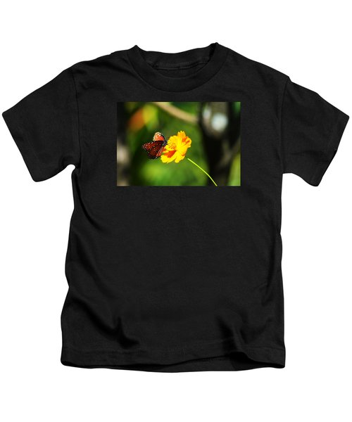 A Study In Orange And Yellow Kids T-Shirt
