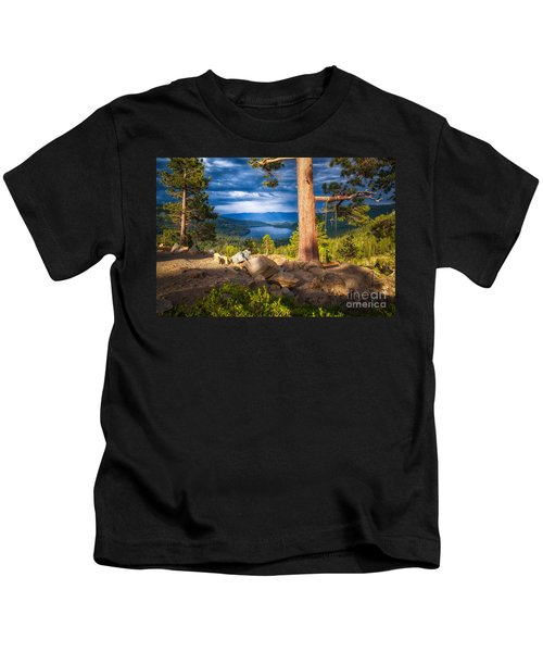 A Swing With A View Kids T-Shirt