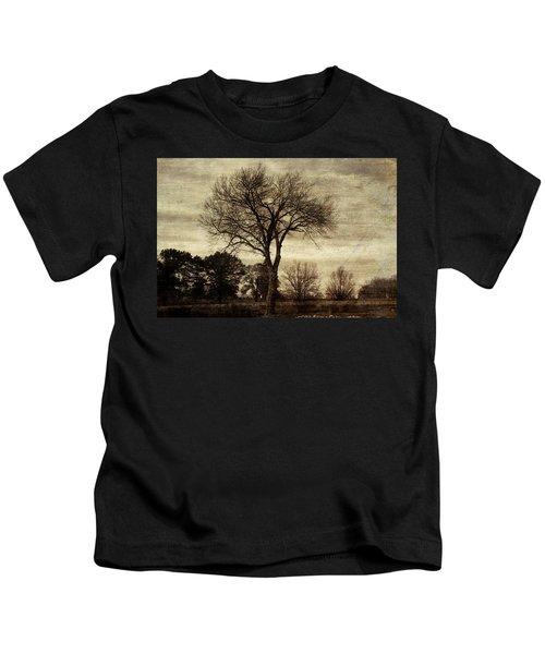 A Tree Along The Roadside Kids T-Shirt