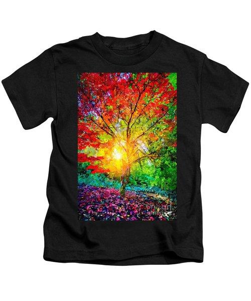 A Tree In Glory Kids T-Shirt