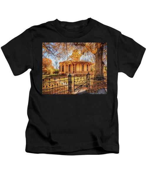 A Victorian Autumn Kids T-Shirt
