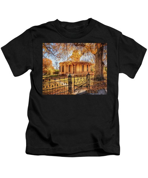 A Victorian Autumn Kids T-Shirt