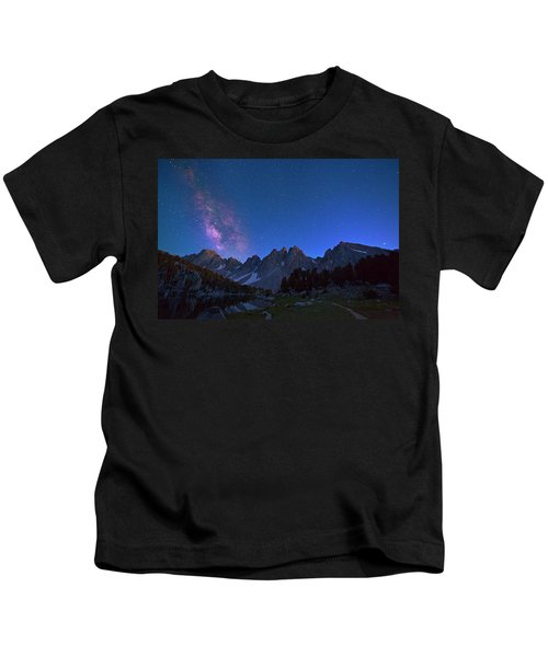 A Walk Beneath The Stars Kids T-Shirt