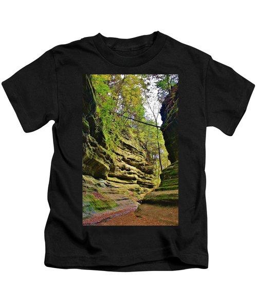 A Walk Through The Canyon Kids T-Shirt