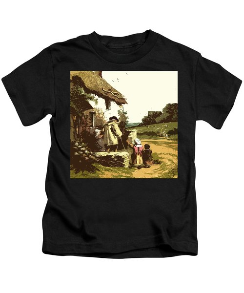 A Walk With The Grand Kids Kids T-Shirt