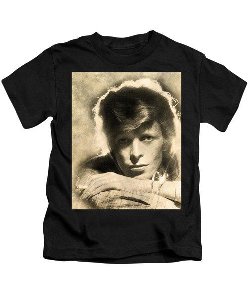 A Young David Bowie Kids T-Shirt