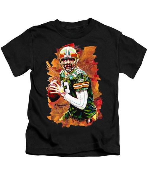 Aaron Rodgers Kids T-Shirt