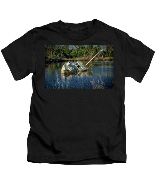 Abandoned Ship Kids T-Shirt