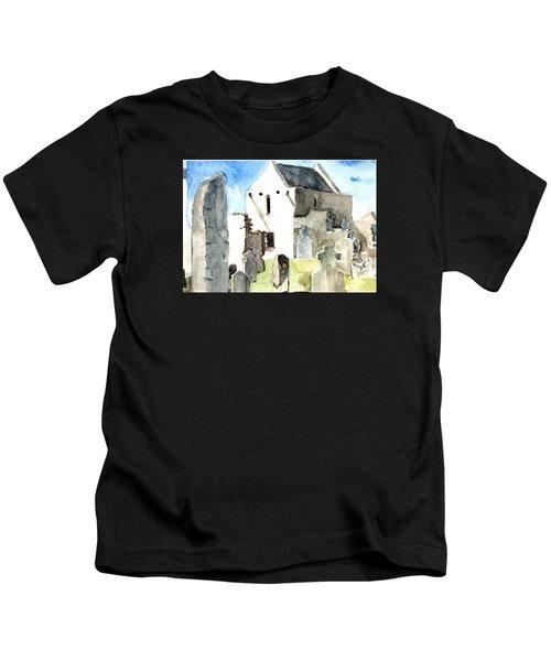 Abbey Watercolor Kids T-Shirt
