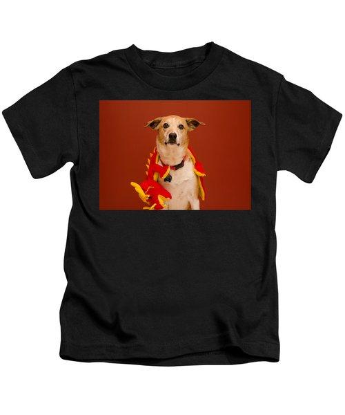 Abbie And A Dragon Kids T-Shirt