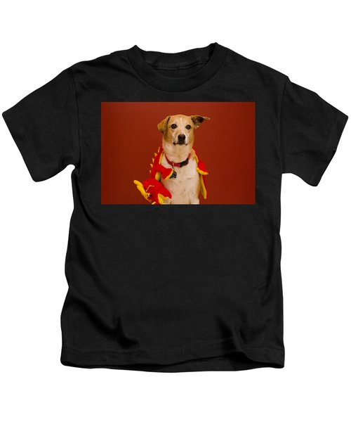 Abbie And Dragon Toy Kids T-Shirt