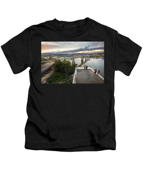 Above The Bluff, Musuem View Kids T-Shirt