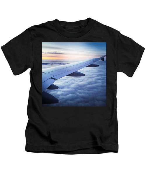 Above The Clouds 01 Kids T-Shirt