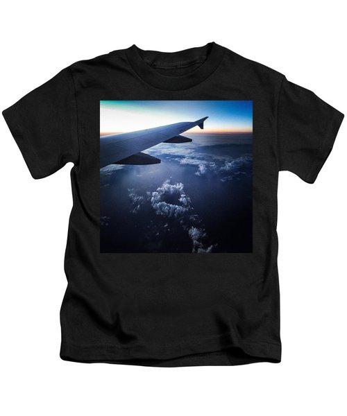 Above The Clouds 02 Heart Cloud Kids T-Shirt