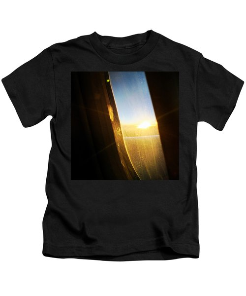 Above The Clouds 05 - Sun In The Window Kids T-Shirt
